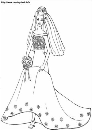 Barbie Coloring Pages Printable for Kids   r1n7l