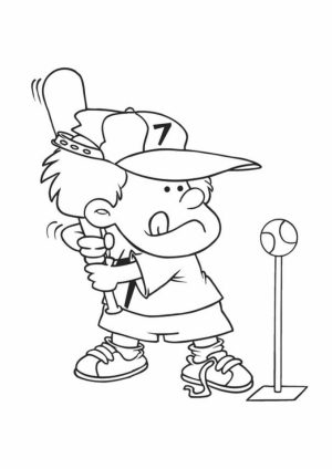 Baseball Coloring Pages to Print Out   99462