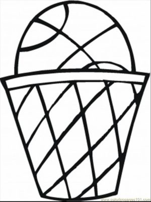 Basketball Coloring Pages Free Printable   595988
