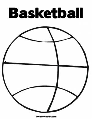 Basketball Coloring Pages Free Printable   679162