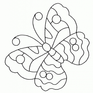 Butterfly Coloring Book Pages   09761
