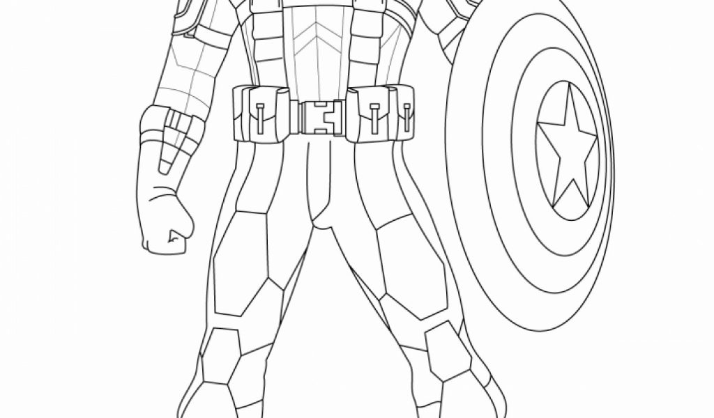 Get This Captain America Coloring Pages Free To Print 31756
