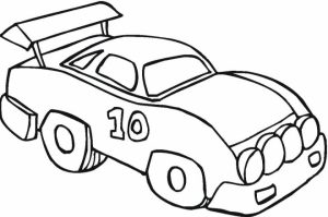 Car Coloring Page Free Printable   22398
