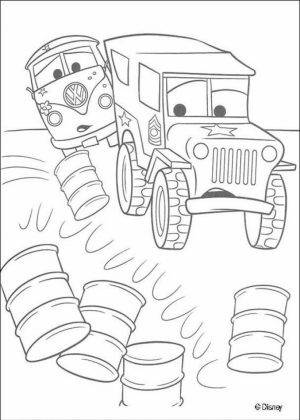 Cars Coloring Pages Disney Printable for Kids   12575
