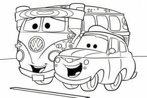 Cars Coloring Pages Free Printable   17576