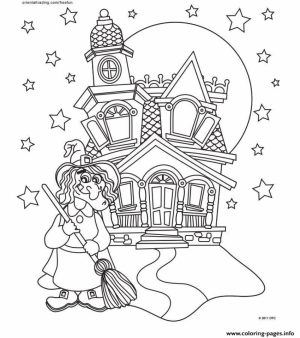 Castle Coloring Pages to Print for Free   gwm6