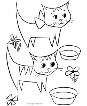 cat coloring pages free to print vbao2
