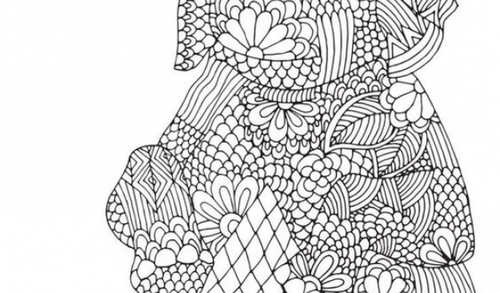 challenging coloring pages of elephant for adults 7gf54c46