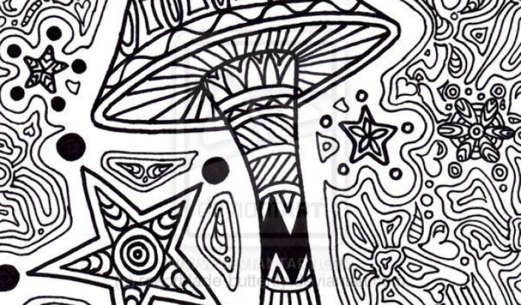 Stunning Trippy Coloring Pages Ideas New Printable Coloring