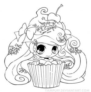 Children's Printable Chibi Coloring Pages   BTB4A