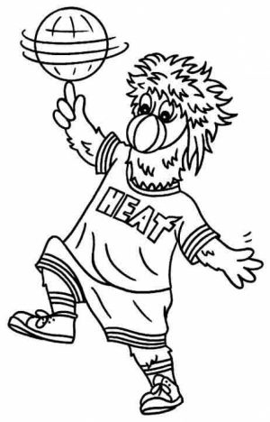 Children's Printable NBA Coloring Pages   BTB4A