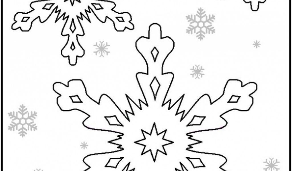 christmas snowflake coloring pages 31664 - Christmas Snowflake Coloring Pages