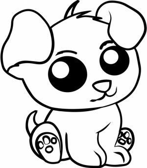 Coloring Pages of Cute Animal for Kids   736df