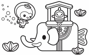 Coloring Pages of Octonauts   97552