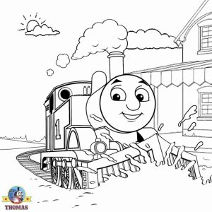 Coloring Pages of Thomas the Train and Friends   65132