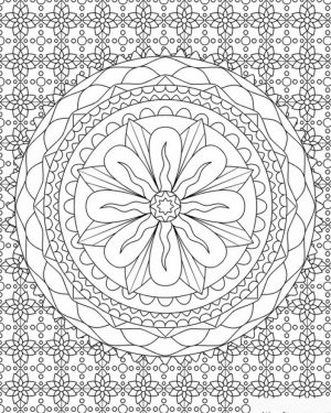Complex Coloring Pages for Adults   23BB5