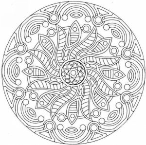 Complex Coloring Pages for Adults   52NC6