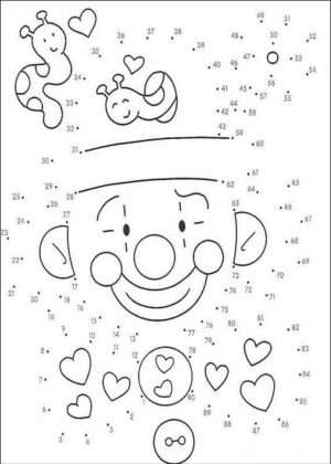 Connect the Dots Coloring Pages Free Printable   76955