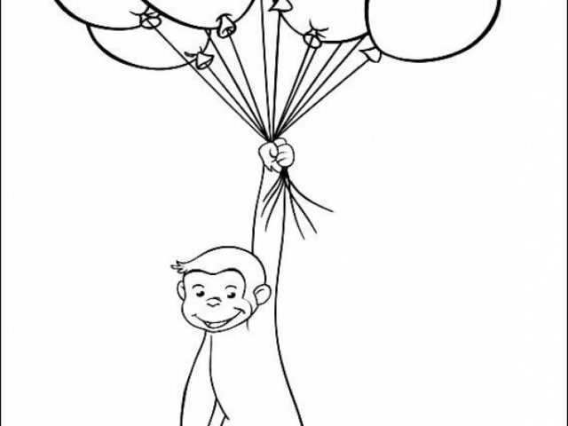 no noggin curious george halloween coloring pages coloring