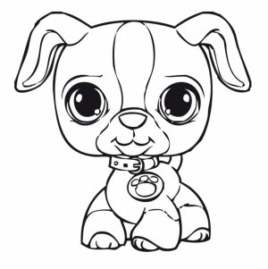 Cute Coloring Pages of Littlest Pet Shop   36179