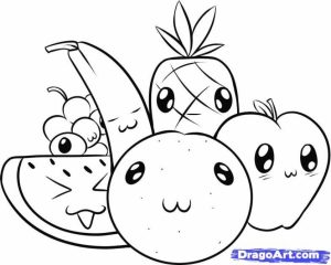 Cute Food coloring pages   7dv3m