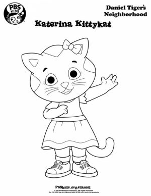 Daniel the Tiger Coloring Pages   95619