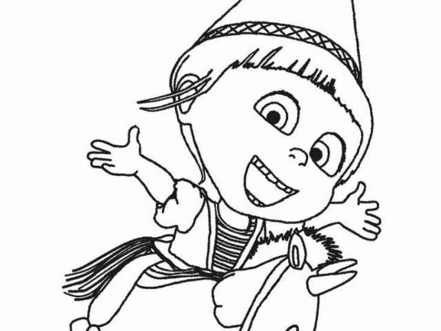 despicable me coloring pages for kids 09461 - Despicable Me Coloring Book