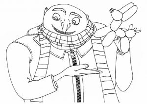 Despicable Me Free Printable Coloring Pages Online   951ba
