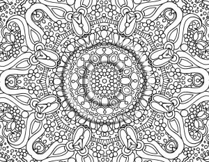 Difficult Coloring Pages for Grown Ups   61829