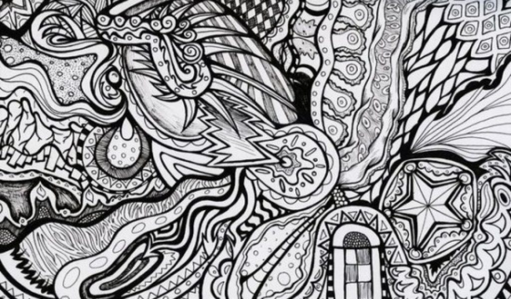 Get This Difficult Trippy Coloring Pages for Grown Ups X7D5N