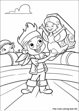 Disney Jake and The Neverland Pirates Coloring Pages   ycv4l