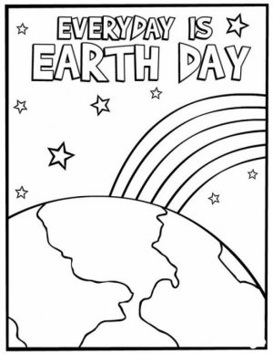 Earth Day Free Printable Coloring Pages   65712