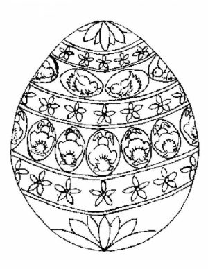 Easter Egg Hard Coloring Pages for Adults   30067