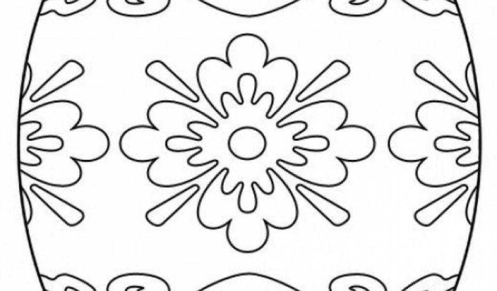 Get This Easter Egg Hard Coloring Pages For Adults 50018