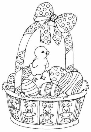 Easter Egg Hard Coloring Pages for Adults   76631