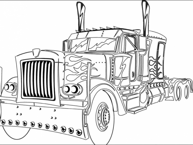 get this easy optimus prime coloring page for preschoolers 9iz28 ! - Optimus Prime Face Coloring Pages