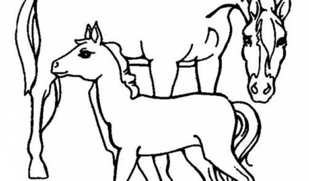 easy farm coloring page - photo #19