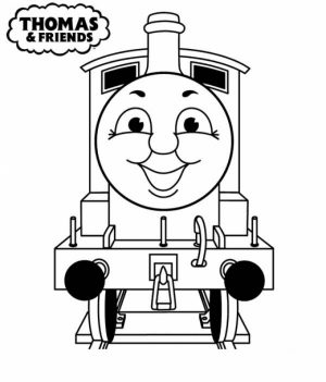 Easy Preschool Printable of Thomas And Friends Coloring Pages   A5BzR