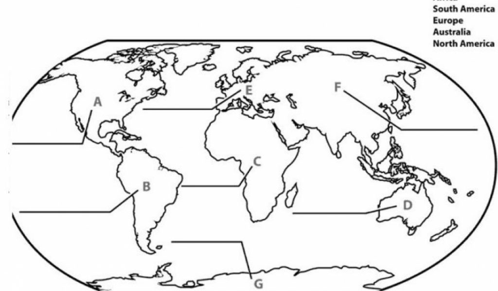 Get This Easy Preschool Printable Of World Map Coloring