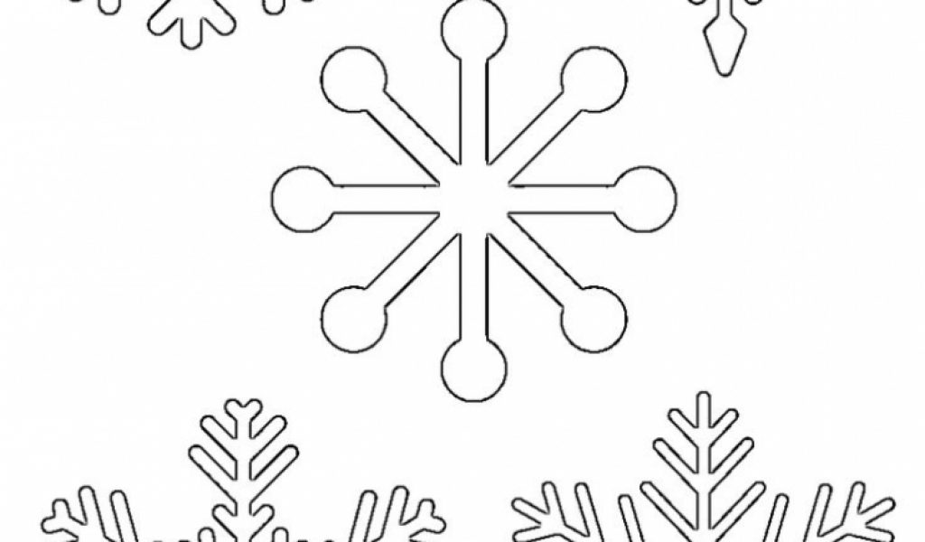 Get This Easy Snowflake Coloring Pages For Kids 33758