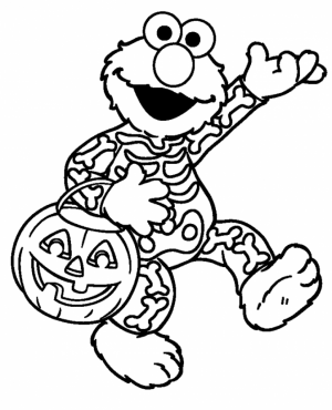 Elmo Coloring Pages for Toddlers   31649