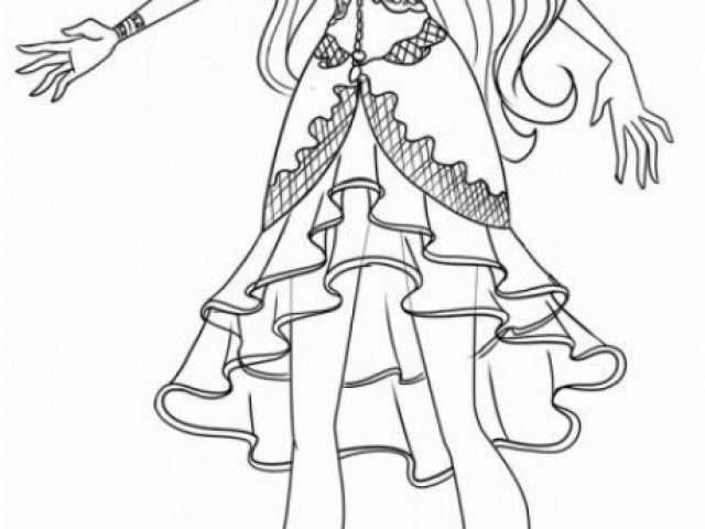 get this ever after high coloring pages for girls vgt23