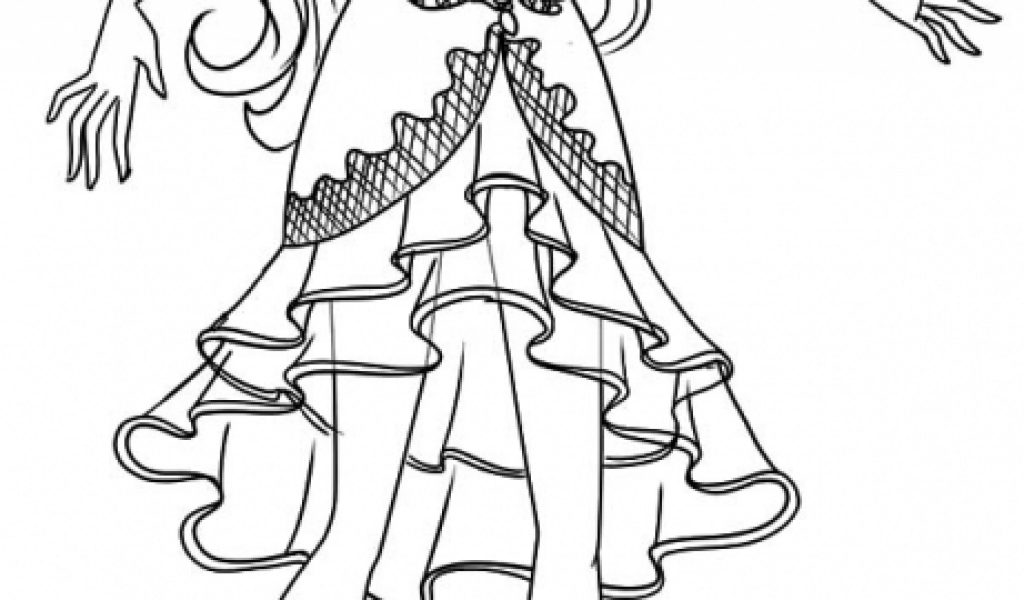 Free Coloring Pages Ever After High Get This Printable