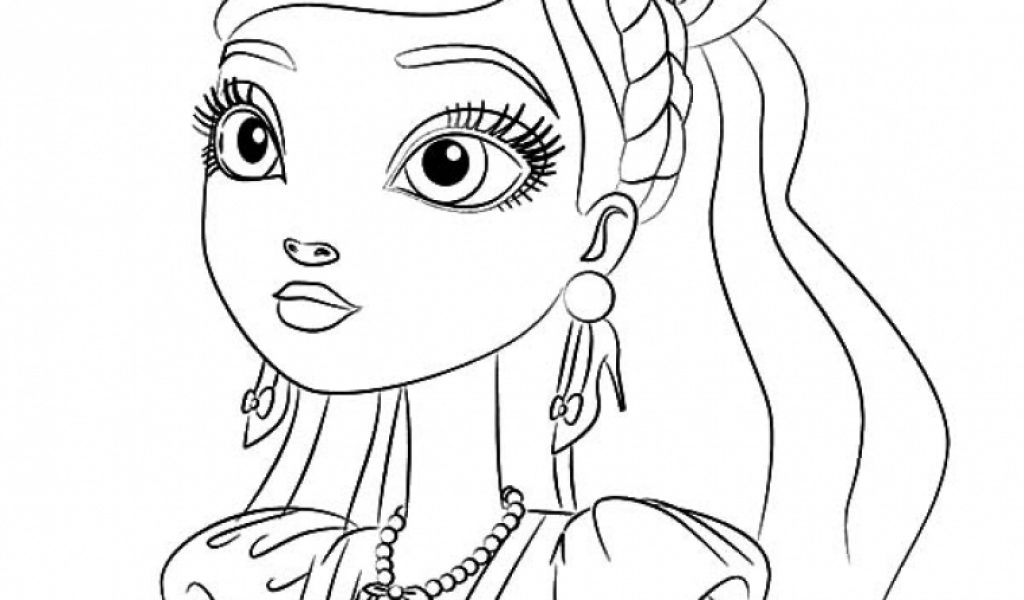 Free Printable Coloring Pages Ever After High Get This