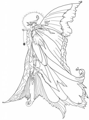 Fairy Coloring Pages Free Printable   38809