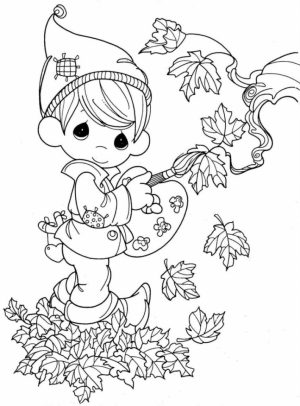 Fall Coloring Pages for Grown Ups Free Printable   cy9b1