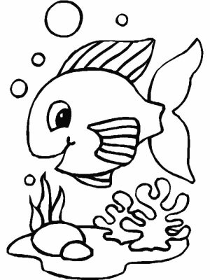 Fish Coloring Pages Free Printable   655764