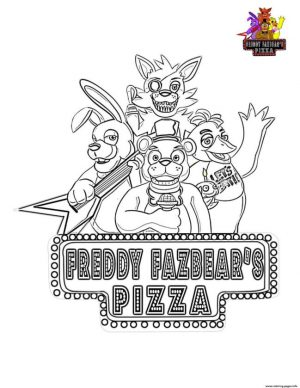fnaf coloring pages free vz74