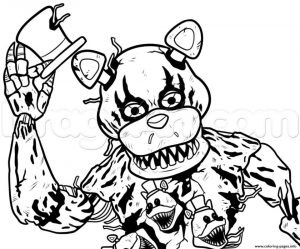 fnaf coloring pages free yap6