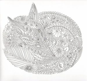 Fox Coloring Pages for Adults   2anjx6
